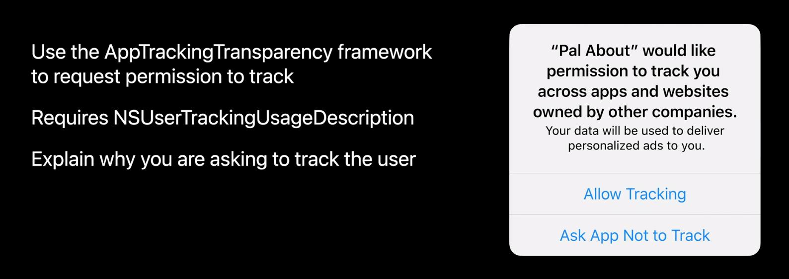 AppTrackingTransparency Framework iOS 14 (iOS IDFA pop up flow)